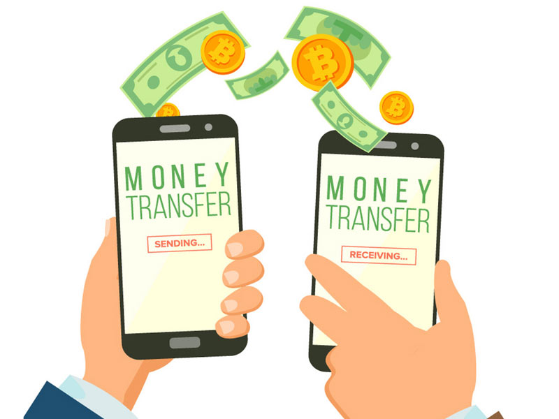 how to transfer money to someone else's bank account