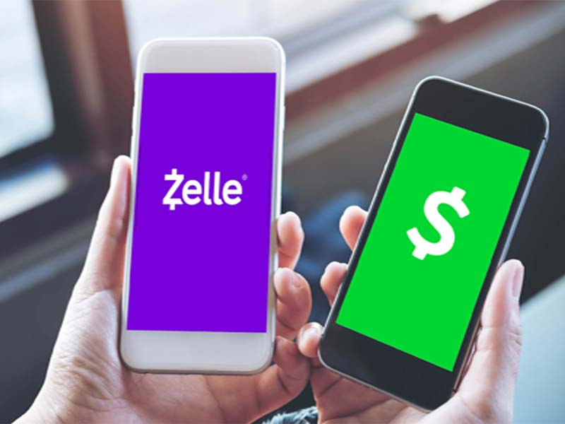 can you send money from zelle to cash app