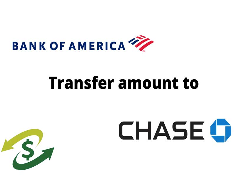 transfer money from bank of america to chase