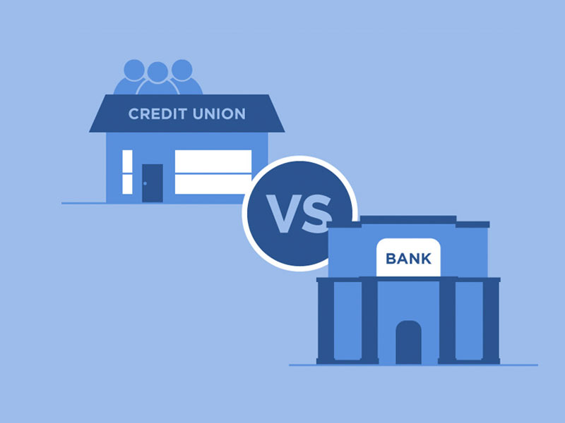 difference between banks and credit unions